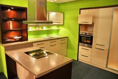 The Of Color Part 2 Oceanic Time Warner Cable S Kitchen Natural Lime Green