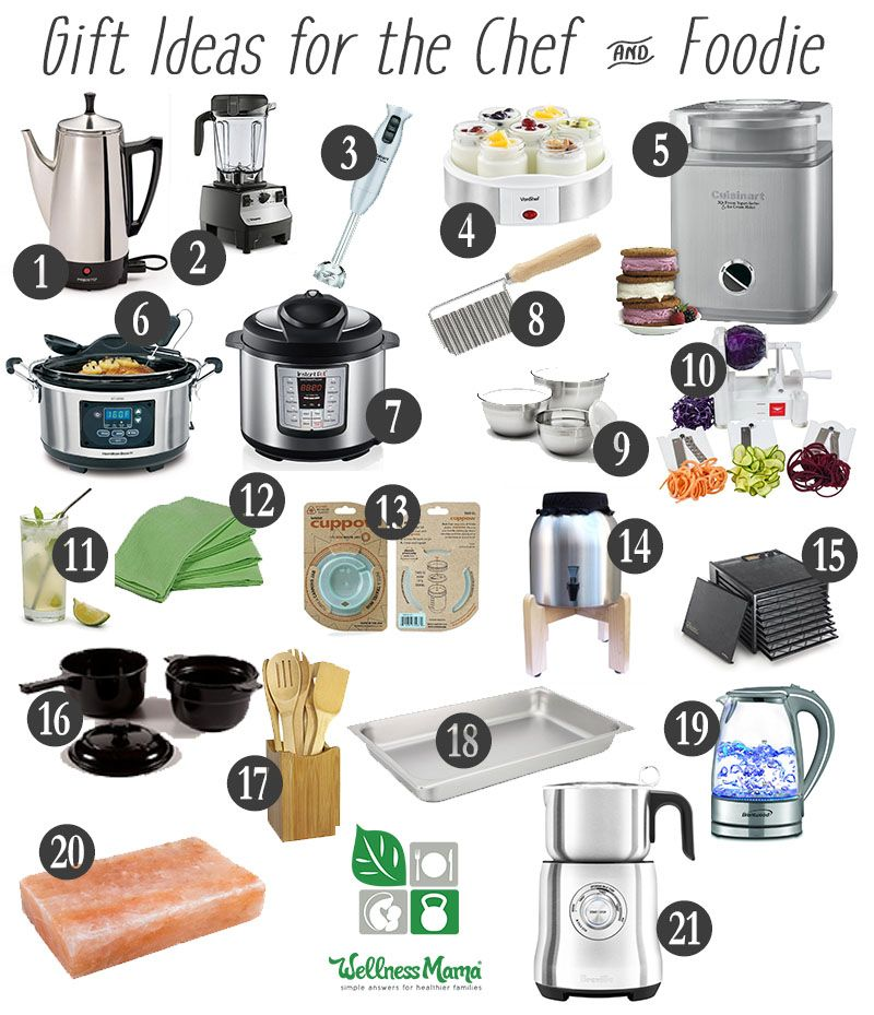 Healthy Gift Ideas for Foodies Christmas and holiday gift ideas for the  chefs and cooks in your life! - 2018 Ultimate Holiday Gift Giving Guide (For Everyone On Your List