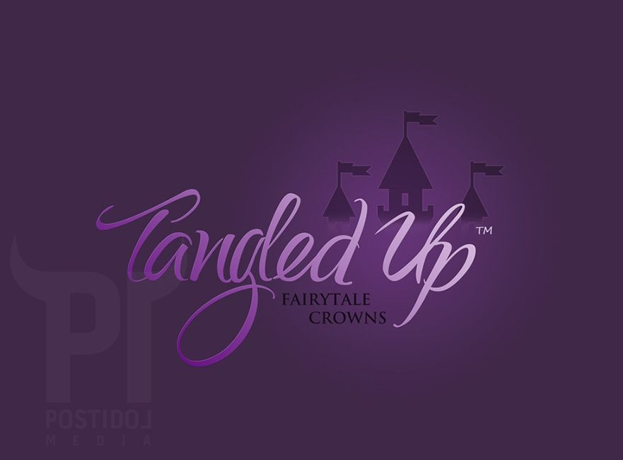 Tangled Up Logo PostIdol Media Custom Logo Design {www.postidolmedia.com} #logo #postidol #logodesign #webdesign #web #design #custom #businesscard #graphiclogo #trendylogo #vancouverbc #canada #postidolmedia