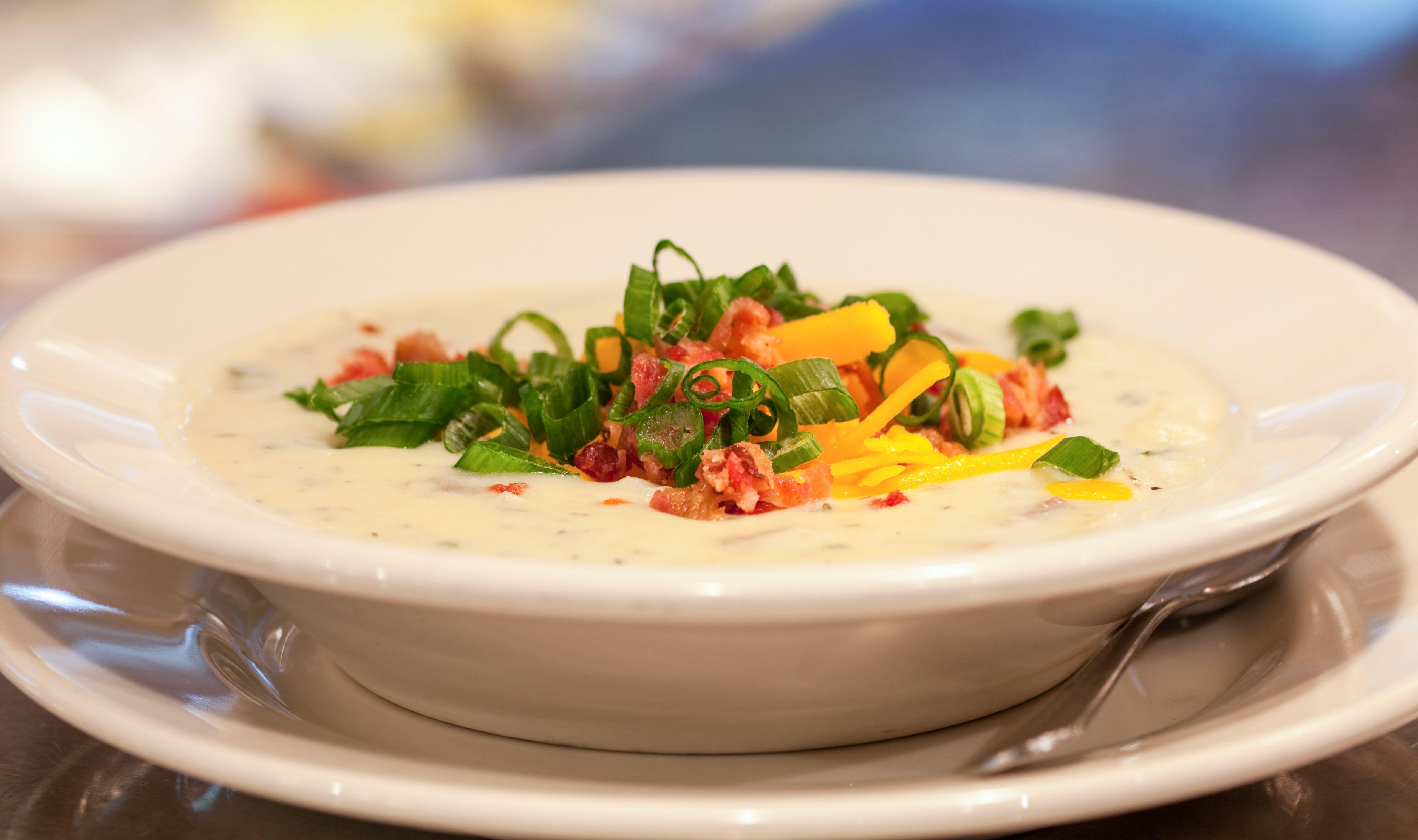 Famous Baked Potato Soup At Charleston S Restaurant Http Www Charlestons