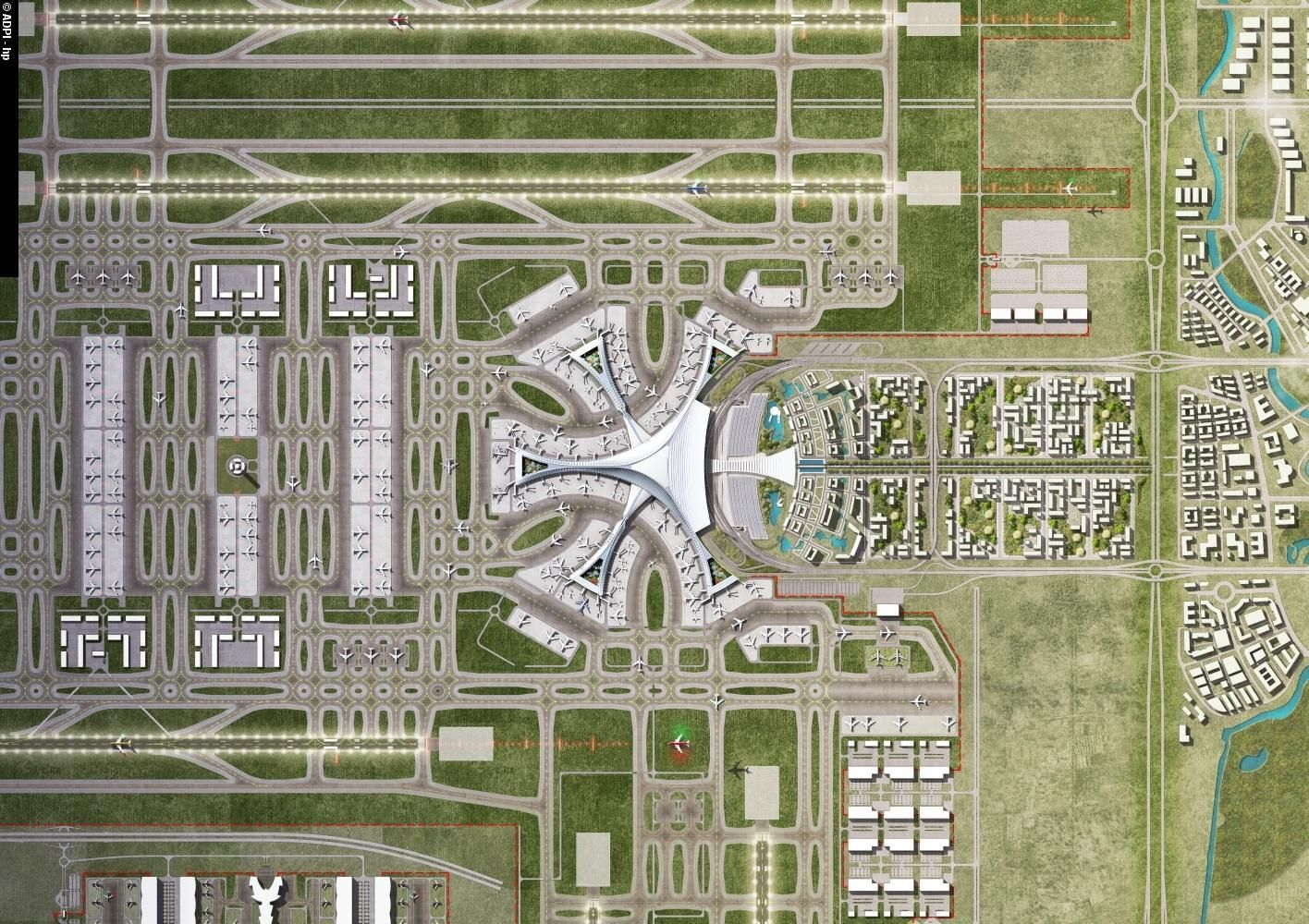 Airport Terminal Building Daxing China sn bay Pinterest