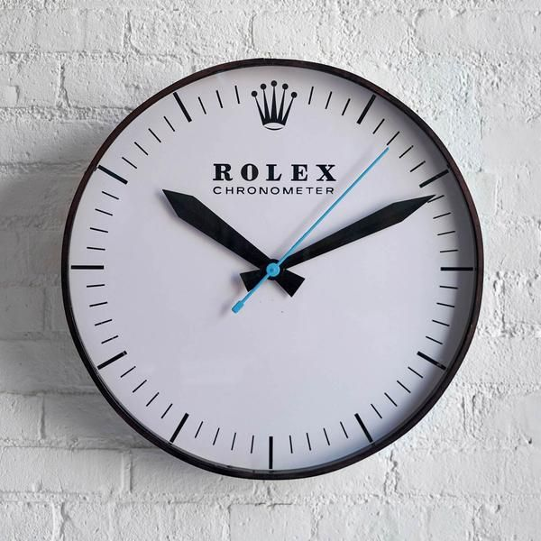 Rolex Chronometer Wall Clock In 2019 Clock Clocks For