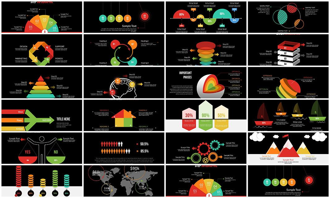 Infographic Creator PowerPoint Charts Infographic