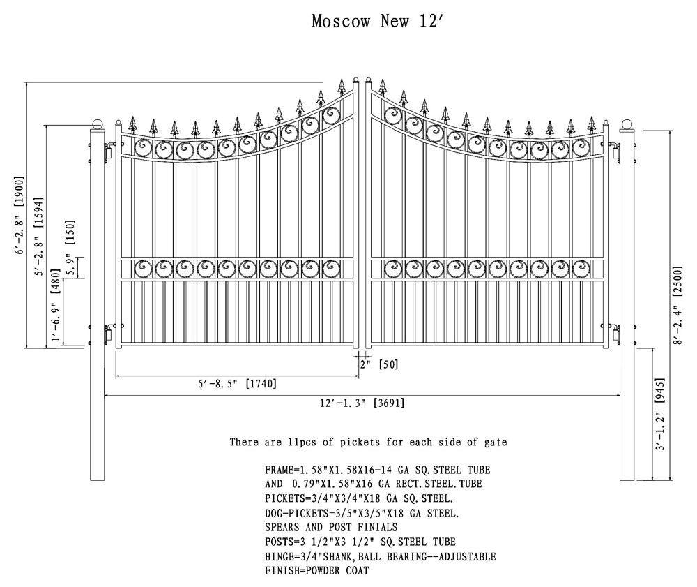 Dual Swing Driveway Gates 12 Foot Aleko Driveway Gate Wrought Iron Driveway Gates Driveway