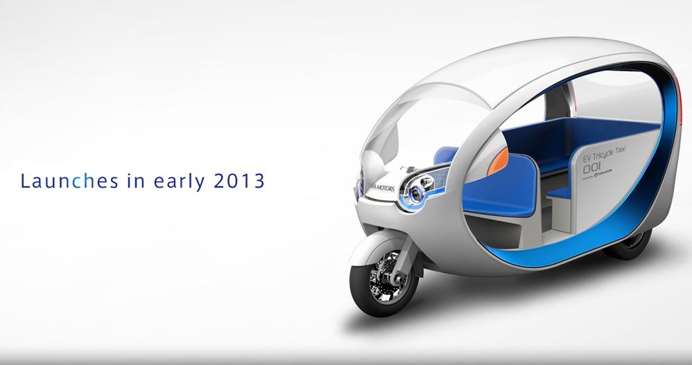 途上国にエコな電動三輪タクシーを 日本から世界一を目指す テラモーターズ が東南アジアへ進出 電動三輪車 自動車 コンパクトカー