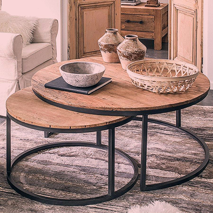 Pin By Rhonda Graham On Table Basse Coffee Table Round Coffee Table Sets Moroccan Decor Living Room