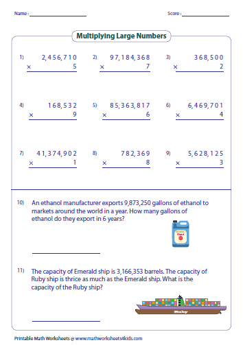Multiplying Large Numbers with Place Values   Place Value Worksheets moreover adding and subtracting large numbers worksheets – ccavzy info together with  besides Large Numbers To Print 1 20 Print My Little Pony Cartoon Worksheet moreover multiplication puzzle worksheets also  as well Maths Long Multiplication Worksheets Multiplying Large Numbers further  in addition Worksheets For Kindergarten Phonics 4th Grade Pdf Interactive Multi as well Multiplying Large Numbers with Word Problems   Multiply Divide as well  additionally  additionally Number and Place Value Solve problems involving multiplication of together with Long Multiplication Worksheets Ks2 Multiplying Large Numbers besides maths long multiplication worksheets multiplying large numbers moreover . on multiplication of large numbers worksheet