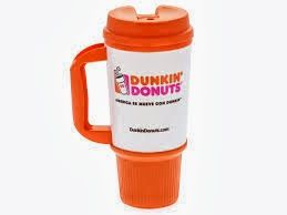 Dunkin Donut refills are only .99 cents when you buy a mug! The mugs are less than $5 so you get your money back in just two visits! AWESOME!!! This is going to save so much money!!!