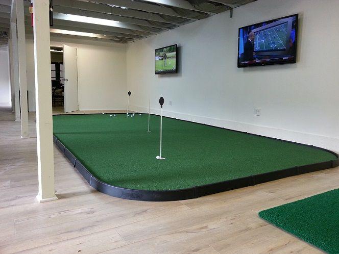 College Indoor Golf Facilities Now a Necessity   Golf room ...