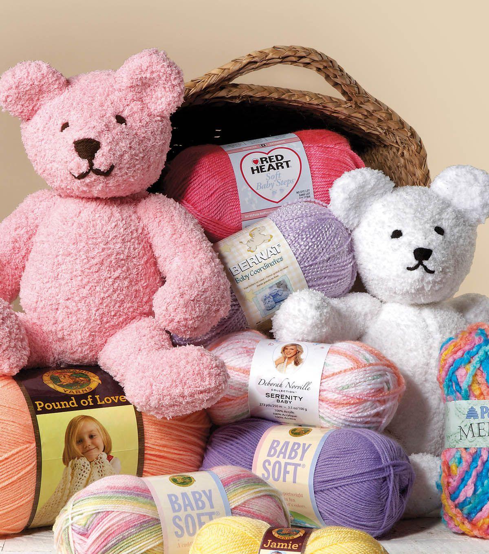 Softee bear pattern via joann bernat brands crotchet knit softee bear pattern via joann bernat brands bankloansurffo Choice Image