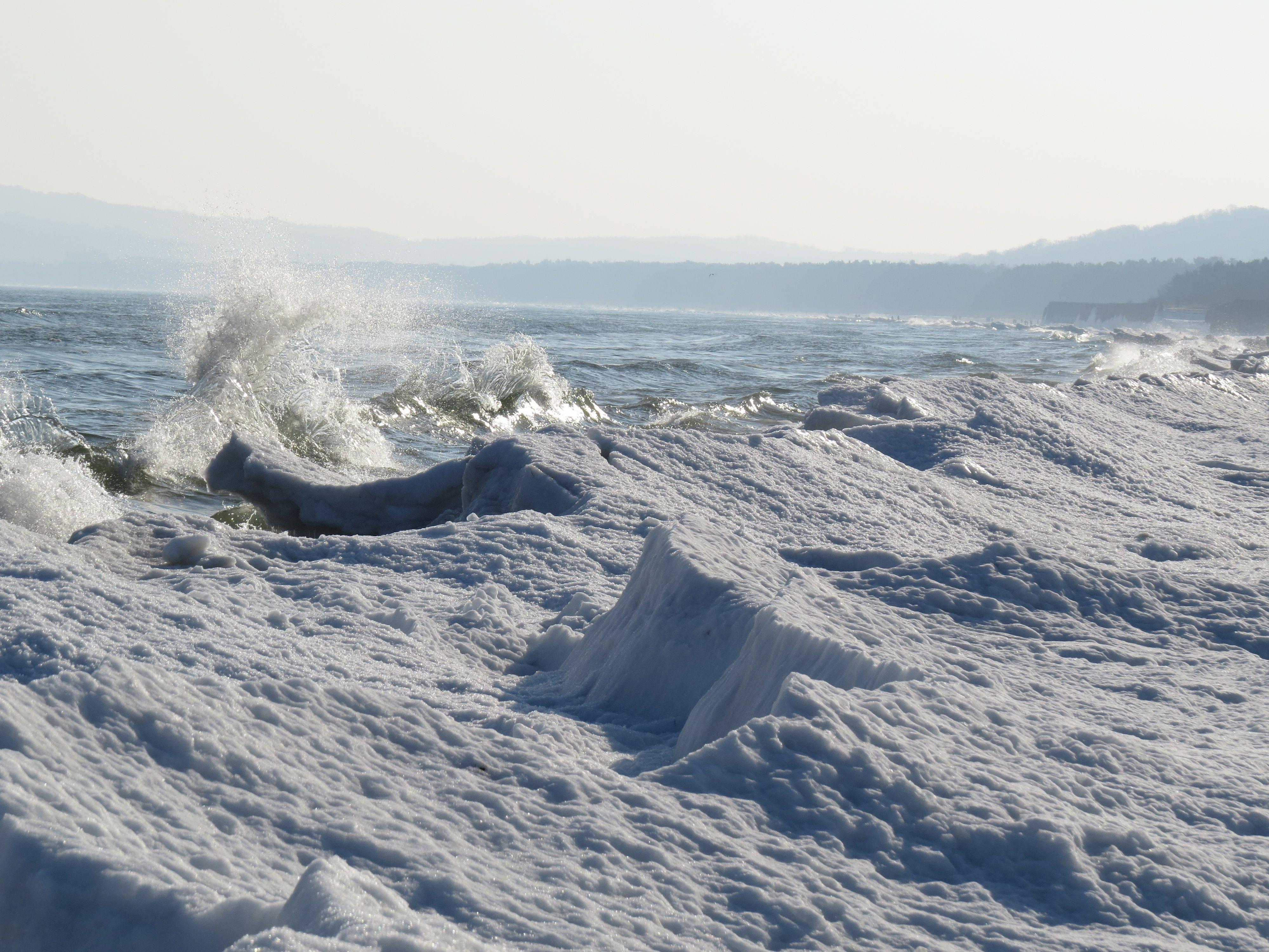 Eiskante Rügen