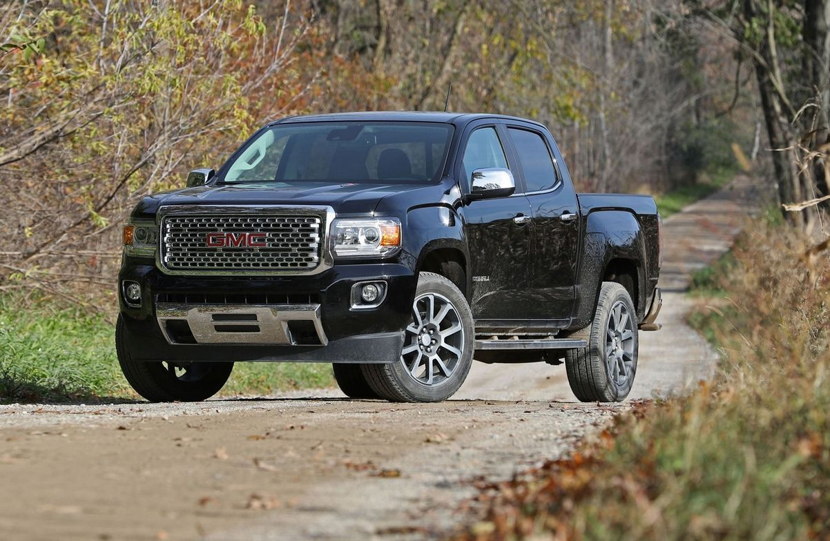 2018 Gmc Canyon Denali Changes
