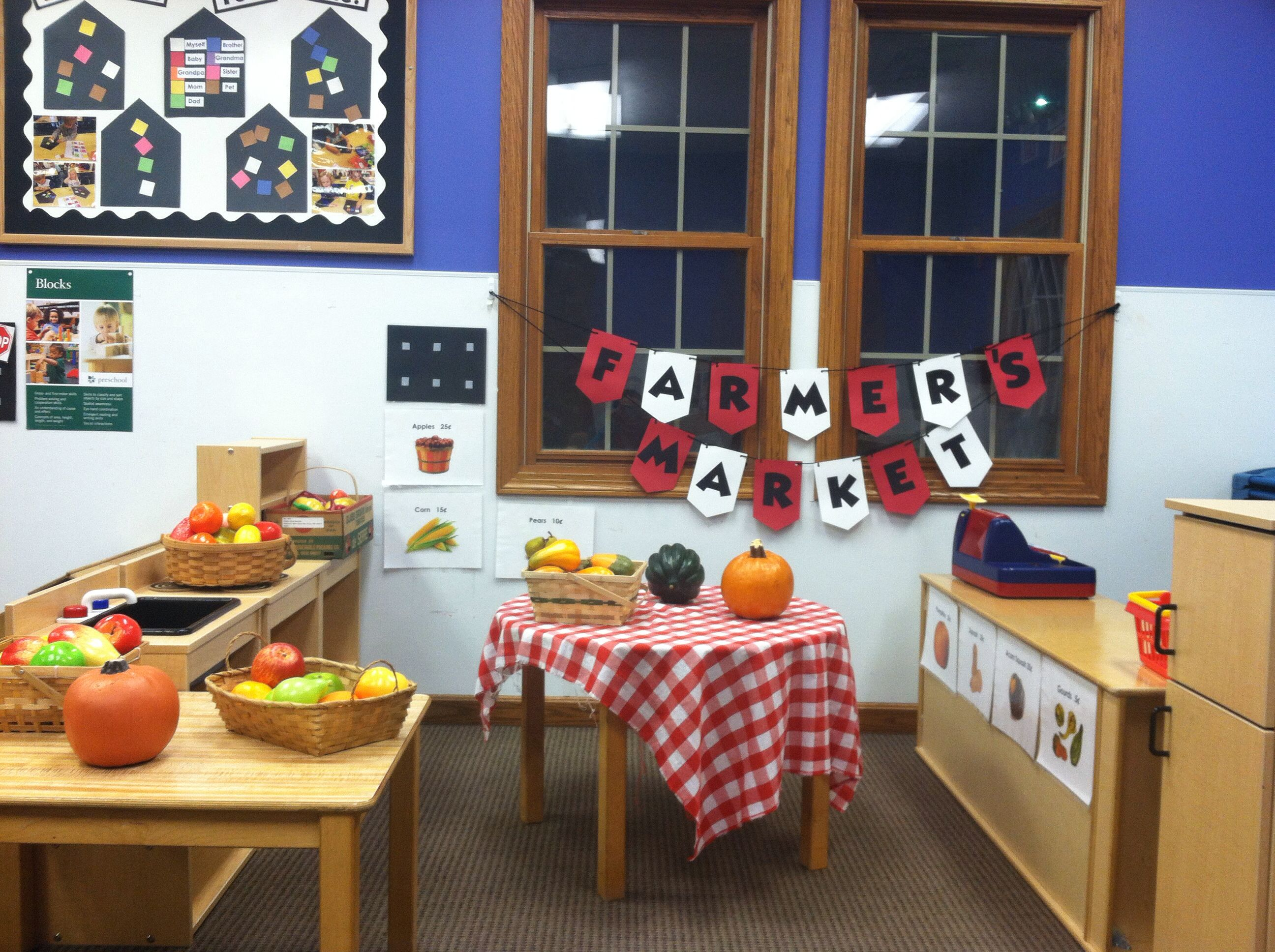 Preschool Farmer S Market Dramatic Play For Fall Theme