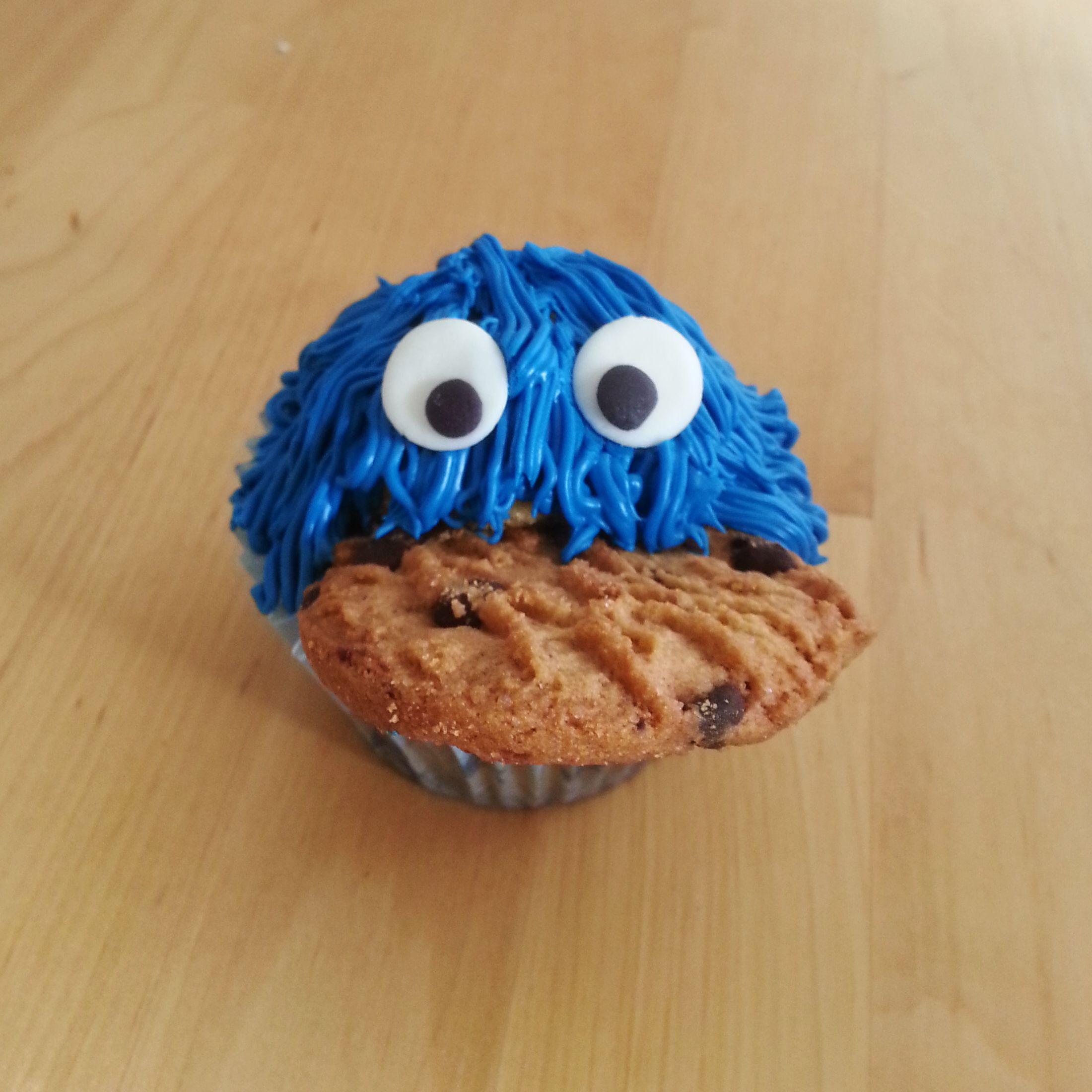 Coockiemonster Cupcake