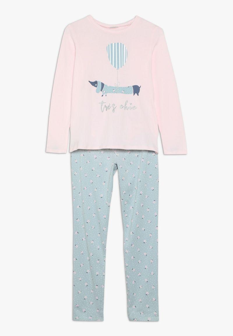 Notable Revisión Compositor  Benetton Pijama - light pink/light blue - Zalando.es   Moda para mujer,  Benetton, Mangas largas