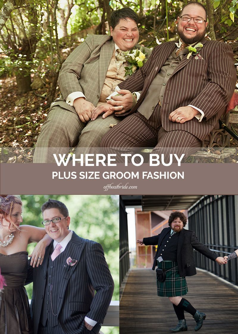 1bdd6d1883 Big and tall, plus size grooms, and larger dappers: Where to shop ...