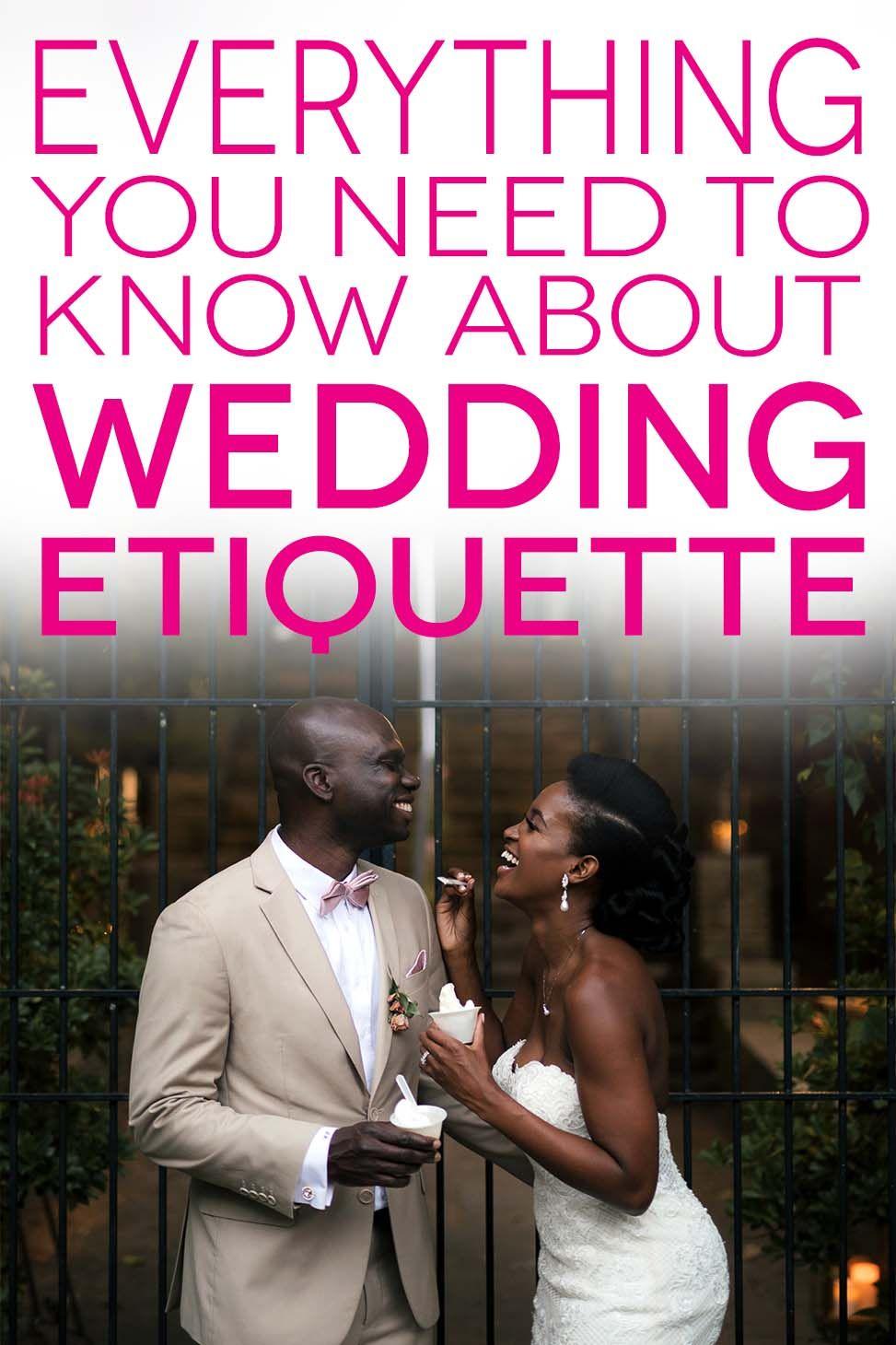 21 Modern Wedding Etiquette Questions Answered A Practical Wedding Wedding Etiquette Practical Wedding Diy Wedding Planning