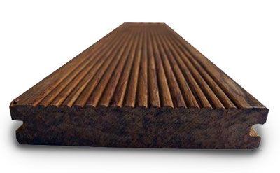 Deck bamb piso exterior las am ricas bamb mimbre for Piscinas pequenas plastico duro