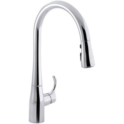 Nice KOHLER Simplice 1 Or 3 Hole Single Handle Pull Down Sprayer Kitchen Faucet