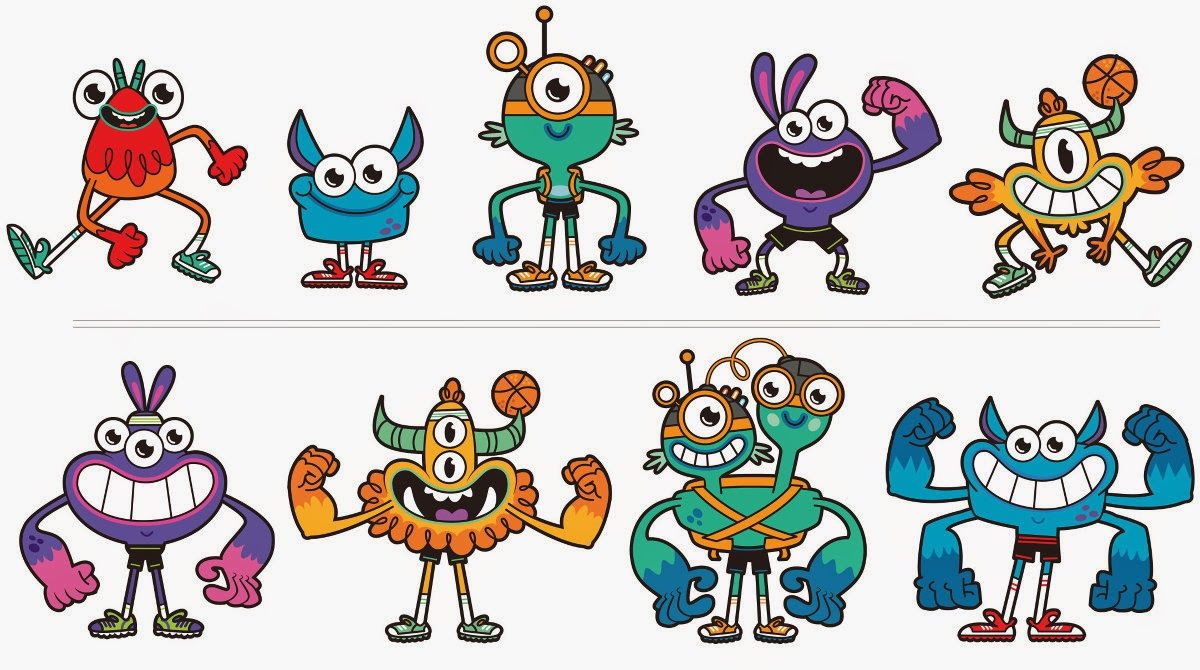 Go Noodle Character Coloring Pages - Coloring Pages Ideas