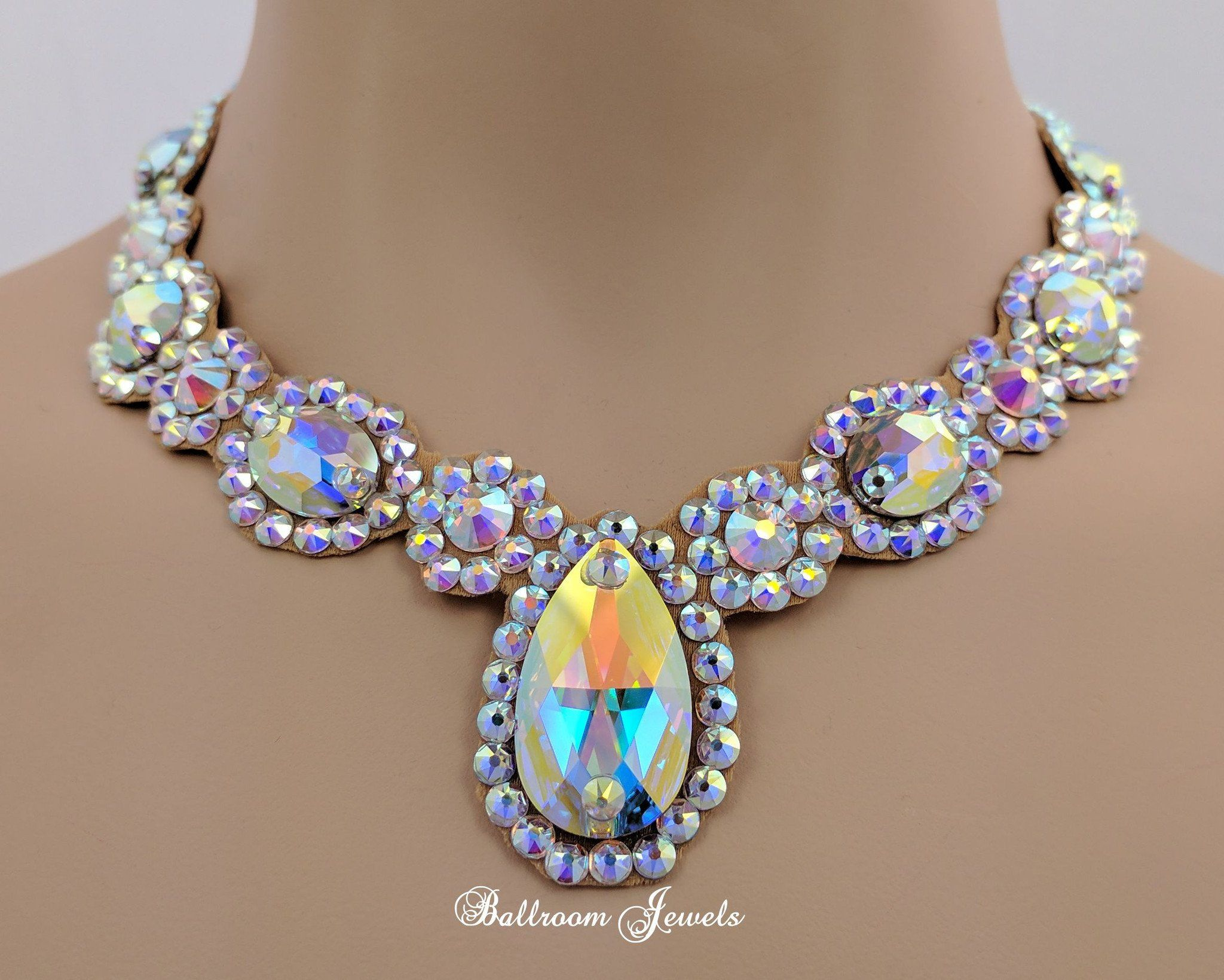 Ballroom Royal Design Crystal necklace Swarovski Crystals, Earrings,  Bracelets, Royal Design, Crystal