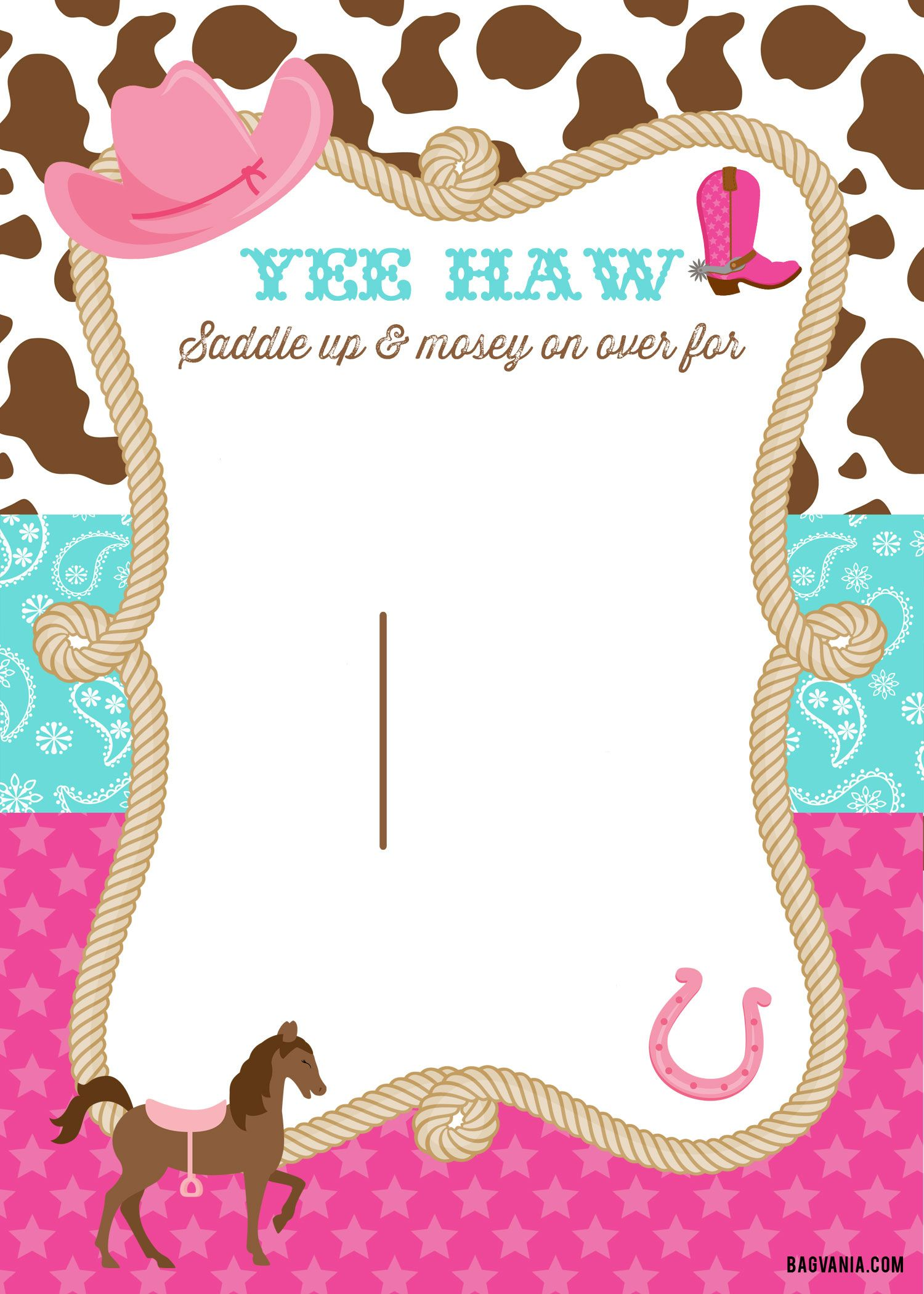 picture about Free Printable Cowgirl Birthday Invitations named Pin by means of D.Pattersaul upon Peaches inside 2019 Cowgirl birthday