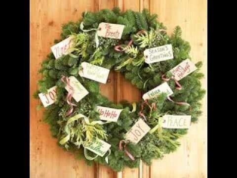 Christmas wreath decorations ideas