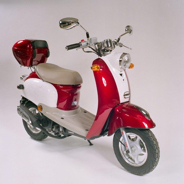 preloved brand new 50cc road ready retro scooter for. Black Bedroom Furniture Sets. Home Design Ideas