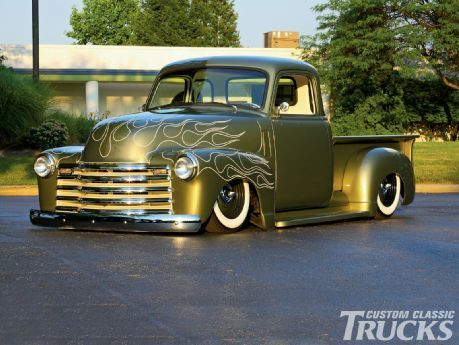 1948 Chevrolet Truck Custom Classic Trucks Magazine Repinned