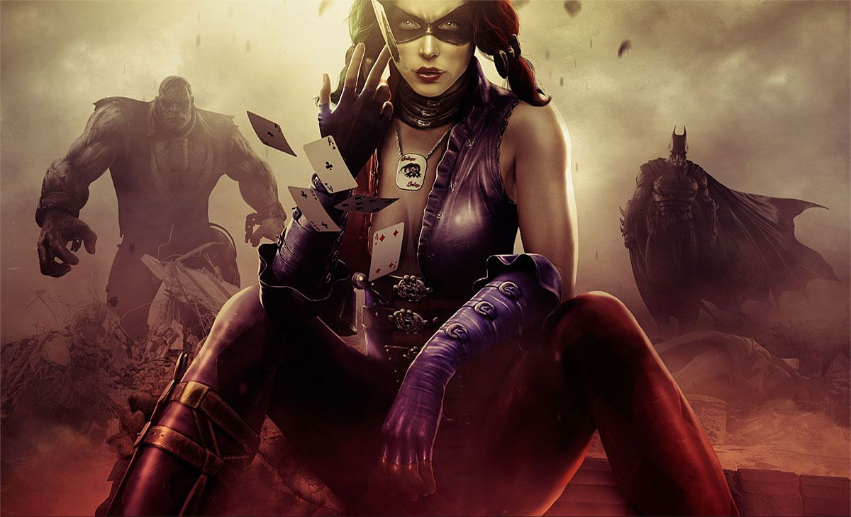 Injustice Gods Among Us Harley Quinn Artwork Wallpapers