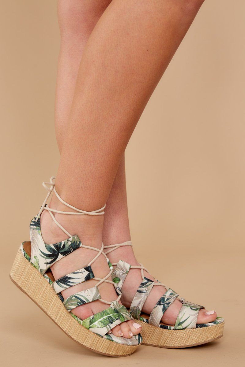 4a9a1b4a88ba Trendy Flatform Sandals - Cute Sandals - Sandals -  34.00 – Red Dress  Boutique