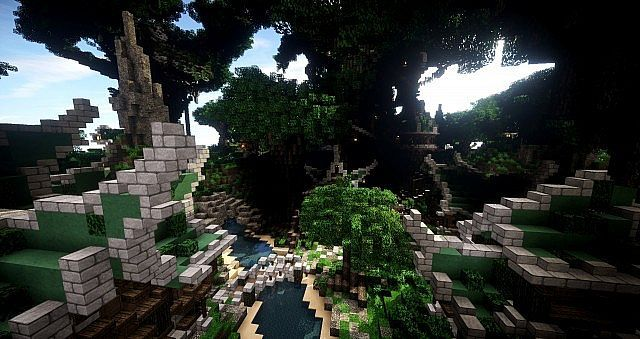 Elven Map Pack and Download Building ideas single build 2 - copy flat world survival map download
