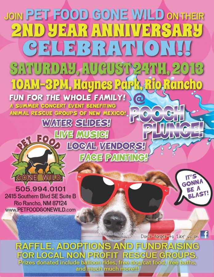 Pooch Plunge At Pet Food Gone Wild Happening Now Rescue Pets
