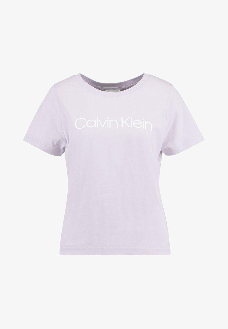Shirt New Printed ShirtsShirts Neck PurpleA T Logo Print KTl3JF1c