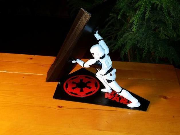 Soporte Moviles Celulares Stormtrooper De Star Wars Thinsgcreators Star Wars Stormtrooper Star Wars Star Wars Empire