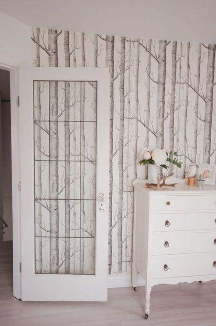Best Birch Tree Wallpaper Love 70 Ideas For 2019 Wallpaper Tree Wood Wallpaper Bedroom Feature 400 x 300