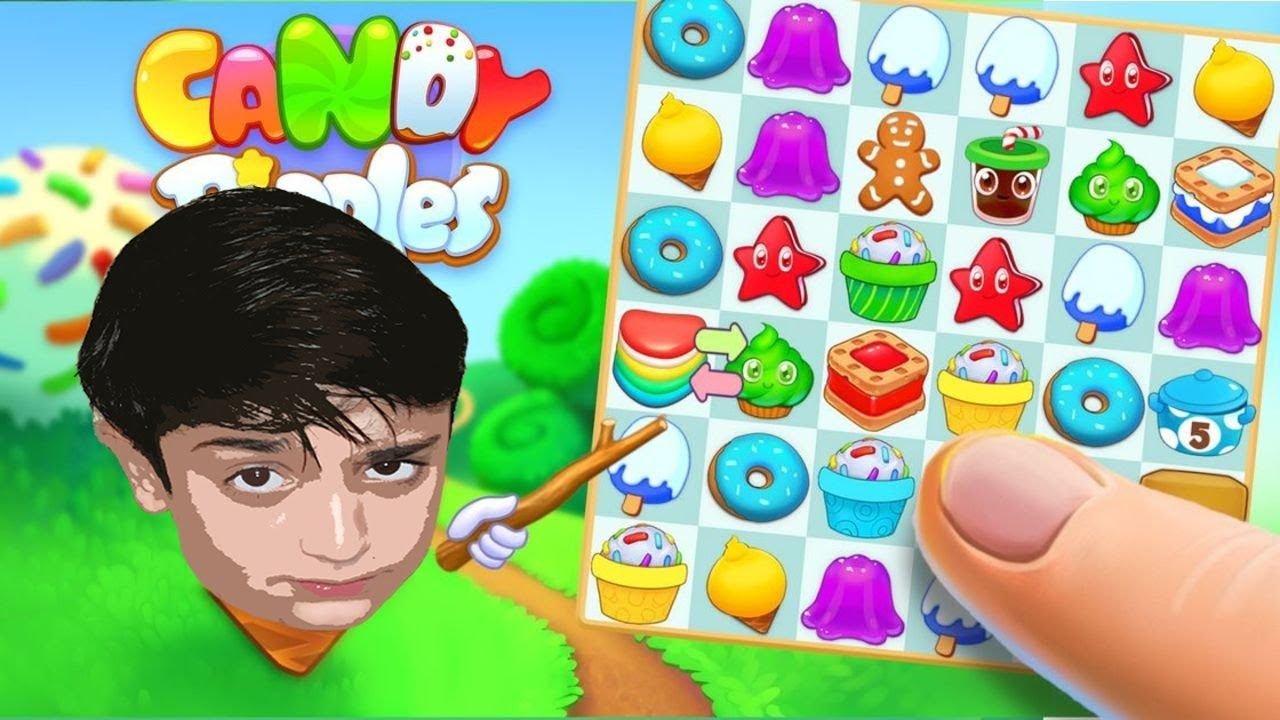 Candy Riddles Free Match 3 Puzzle Gameplay and
