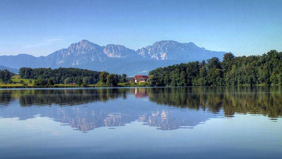 Abtsdorfer See lake by jurek1951