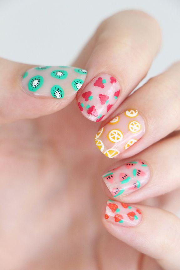fruit-nails-1 | Artister | Pinterest