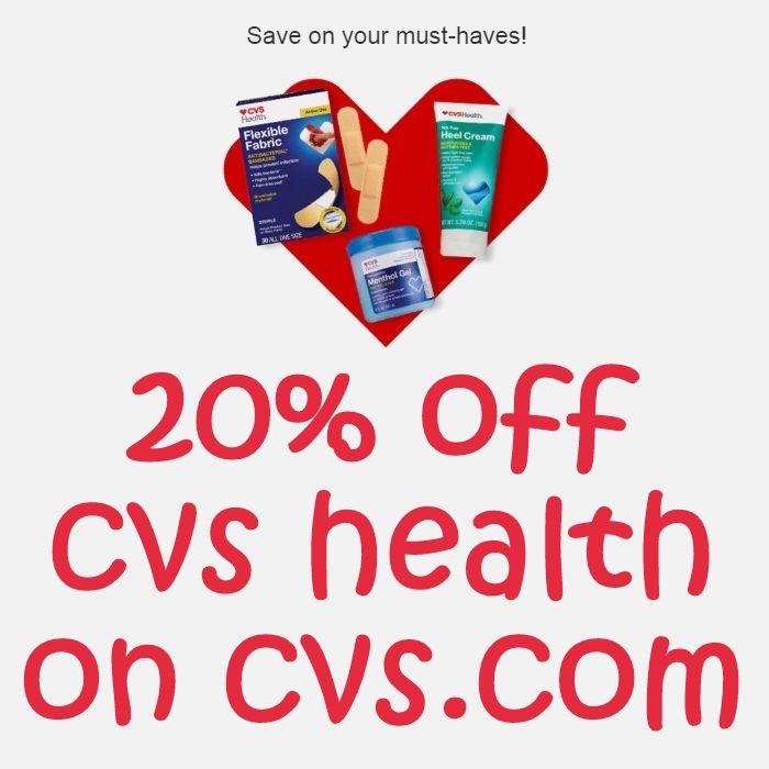 20% off cvs health on cvs.com | Cvs, Renew life, Home ...
