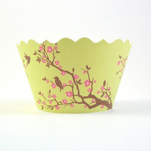 Cute cupcake wrappers from mylittlelove