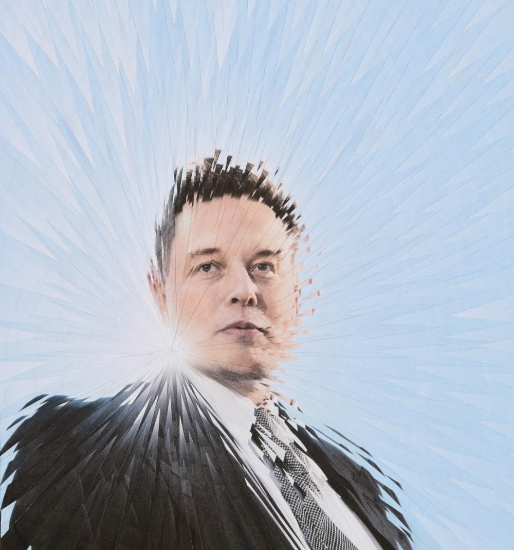 Elon Musk For Fast Company On Behance Instagram Marketing Marketing Design Instagram Tips