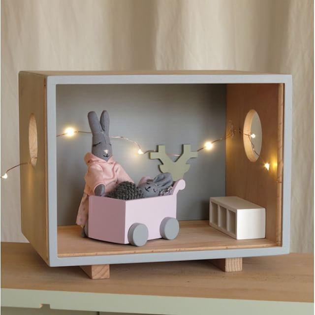 SnapWidget | Baby loft et ses lucioles. #encorejouets @encorejouets #woodentoys #dollhouse #organiccotton #jouetsbois #jouets #toys