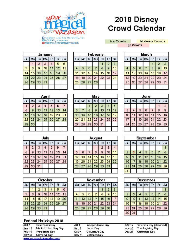 attendance calendar 2018 printable