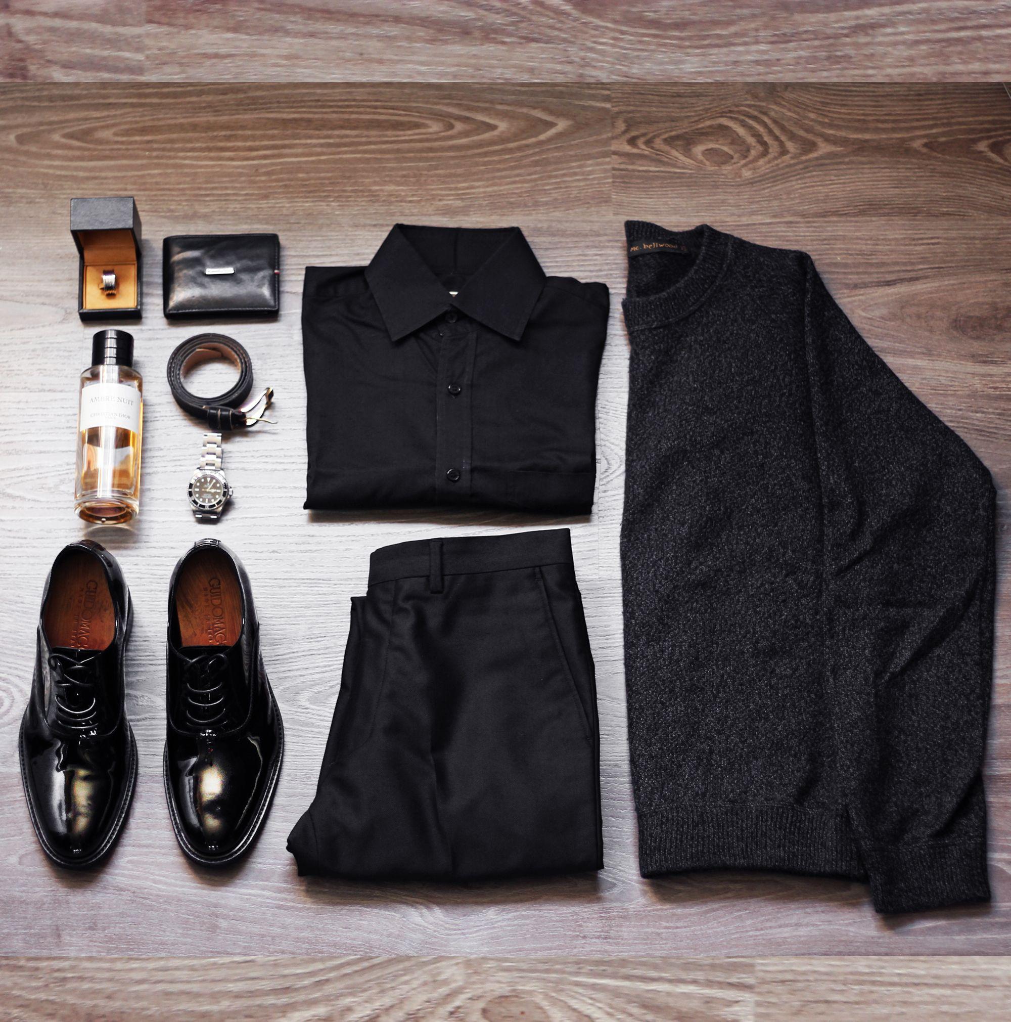 16d1d0b0bdb1 Scarpe Da Cerimonia Uomo Con Rialzo   Total black per un look elegante e  fashion l