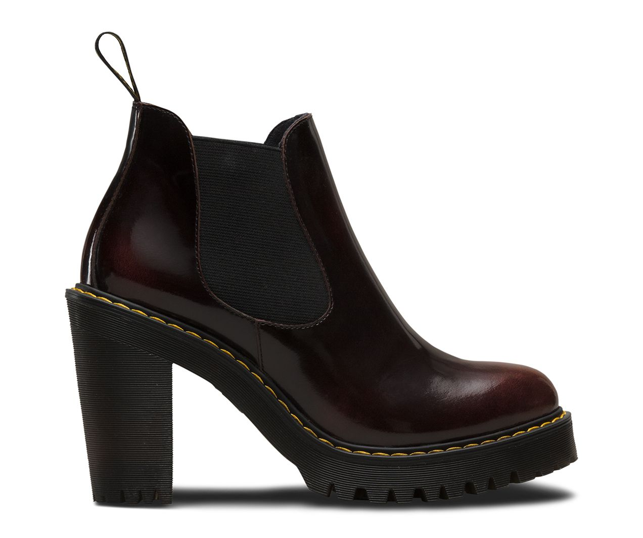 aa4fea200b The Hurston is a pull-on Chelsea Boot style serving up an empowering 3.5  heel