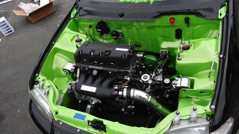 how to clean engine bay of car
