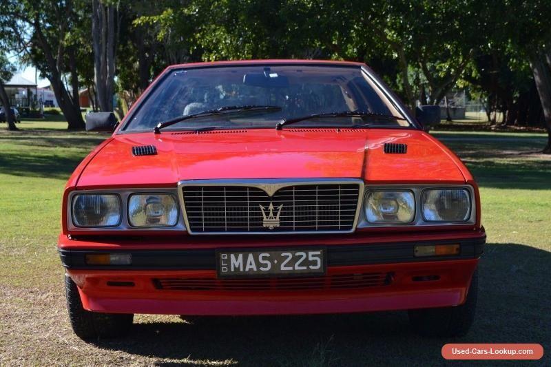 Car for Sale: 1988 Maserati Biturbo i (con imágenes)