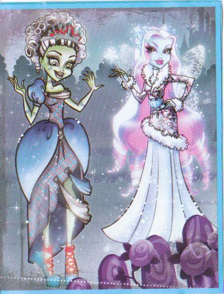 Frankie Stein-Cinderella and Abbey Bominable-Fairy