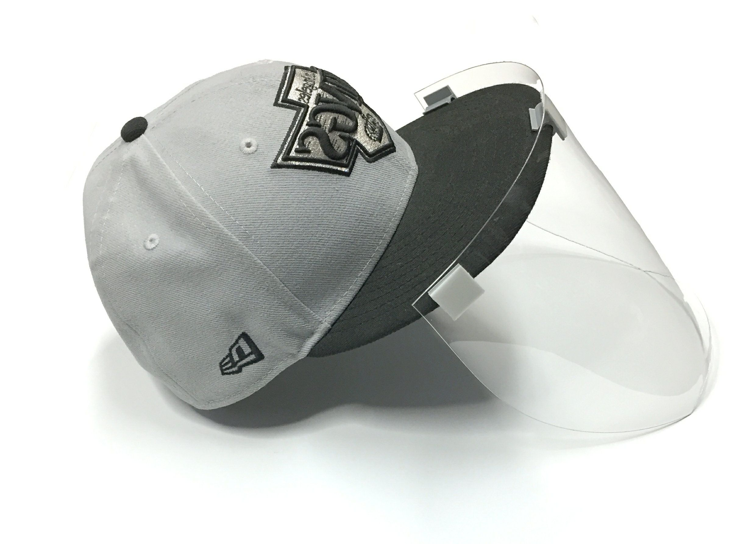 Clip On Face Shield Mask For Your Baseball Caps With Flat Peaks Face Shield Mask Face Shield Masks Face Shield